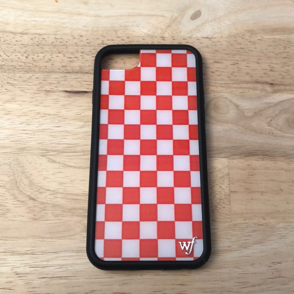 outlet store 170fa 362f7 Wildflower Red Checkered iPhone 8 Case